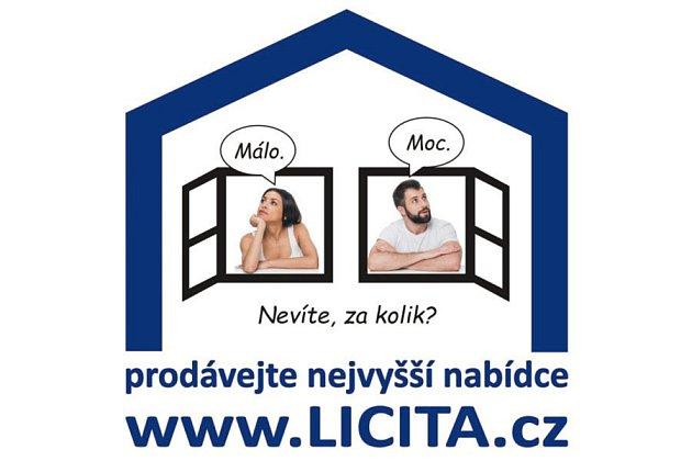 Skutečnou tržní cenu nemovitosti lze spolehlivě zjistit jedině aukcí.