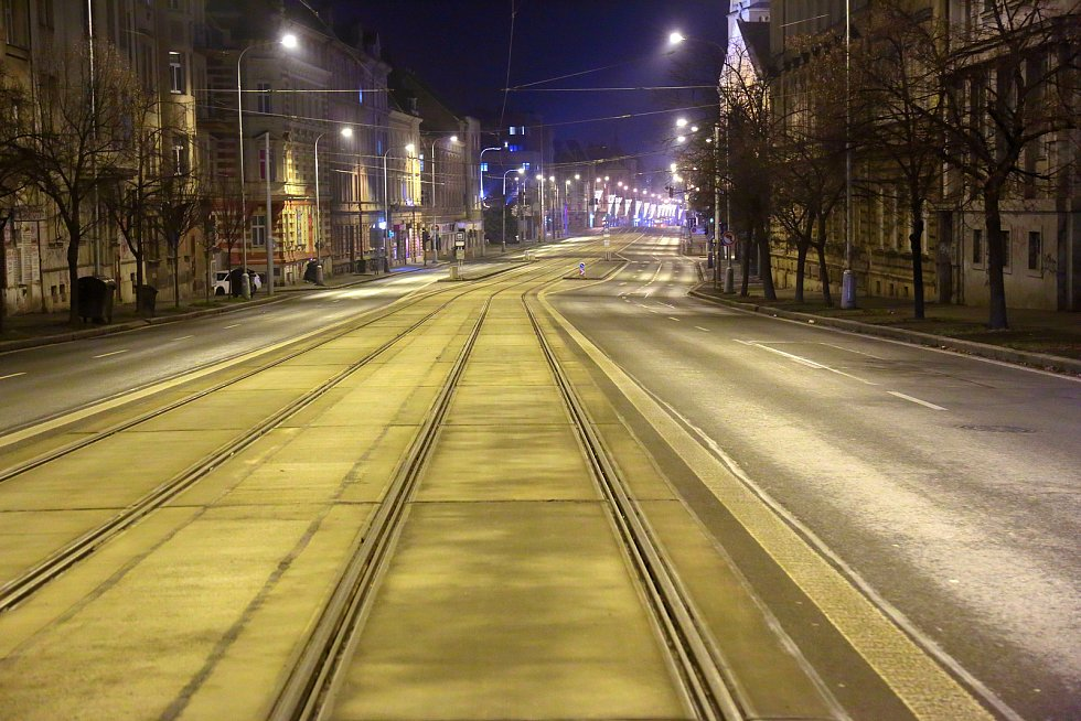 Plzeň - Silvestrovské město po 21 hodině