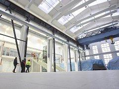 Rekonstrukce science centra Techmania