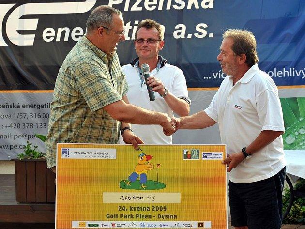 Výtěžek turnaje připadl nejpotřebnějším, podpoře sportu a rehabilitaci handicapovaných dětí