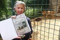 Meda Mládková se stala v plzeňské zoo kmotrou lva berberského