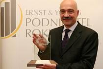 Tomáš Březina s oceněním Podnikatel roku 2007