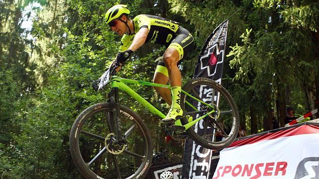 Jan Rajchart (na snímku) se do cross country vrátilve Stupně v dresu Ethic Sport Teamu.