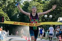 Zlatý maraton a tím i celý letošní Zátopkův zlatý týden vyhrál Jaroslav Křenek (na snímku).