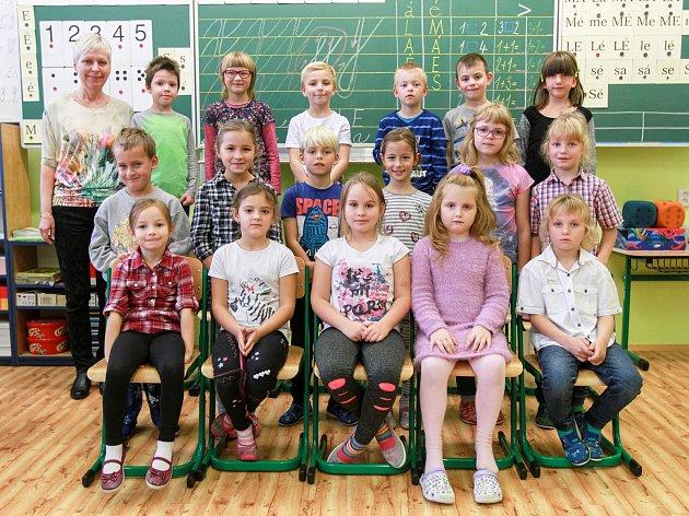 34. základní škola - 1.B- Třídní učitelka Drahomíra Šimanová