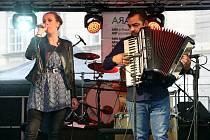 Ara Fest festival romské kultury Romové scéna U Branky