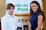 Nejlepšími sportovci Plzně 2020 v kategoriích žactva a dorostu se na pondělním vyhlášení prestižní ankety Sportovec Plzně stali atletka Linda Suchá a cyklista David Peterka.