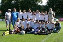 Na snímku jsou žáci Sokola Plasy 2007/2008