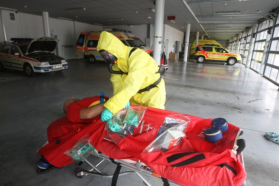 V případě eboly má pomoci biovak