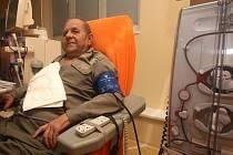 Pacientu Václavu Baněčkovi selhaly ledviny před třemi lety. Od té doby musí pravidelně třikrát týdně docházet do dialyzačního centra