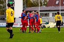 Radost mohly mít po nedělním zápase fotbalistky Viktorie Plzeň (na archivním snímku), které porazily v utkání o šest bodů Pardubice.