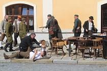 Příznivci vojenské historie předvedli ukázku incidentu, jak se mohl odehrávat v září 1938.
