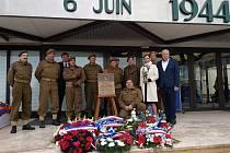 Plzeň uctila hrdiny z Normandie