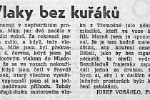 Pravda, 8. června 1967, rubrika Adresováno Pravdě.