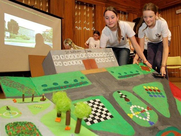 Školáci předvedli projekty zaměřené na úpravu veřejných prostranství.