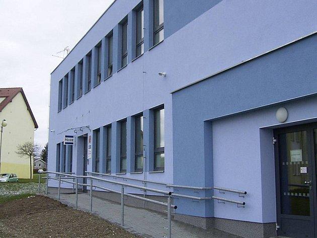 Zrekonstruované obvodní oddělení v Kaznějově