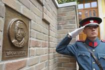 Reliéf policisty Václava Krále