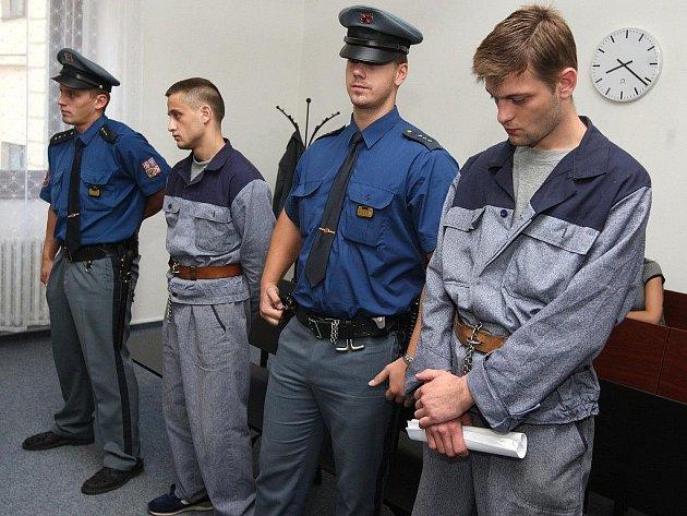 Soud s Antonínem Klysákem (vlevo) a Antonínem Wertheimem