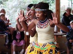 Do plzeňské zoo v pátek zavítali afričtí zpěváci a tanečníci
