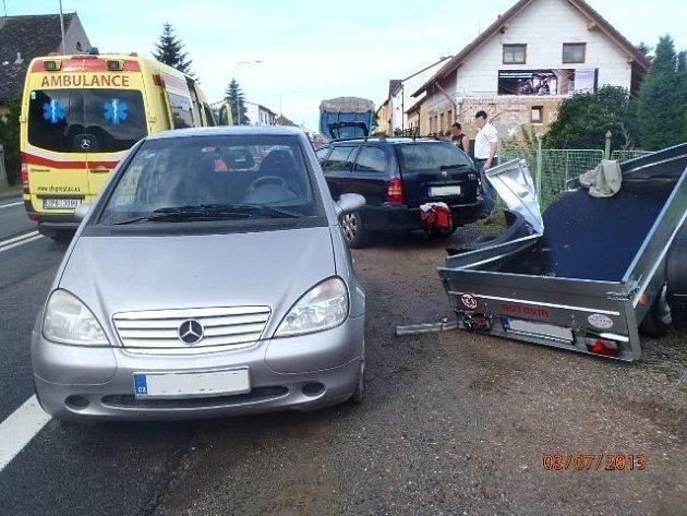 Nehoda u Lužan
