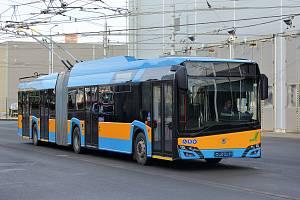 Podívejte se, plzeňské trolejbusy už vozí cestující v Sofii.