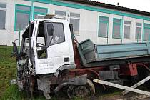 Úterní tragická nehoda u Losiné na jižním Plzeňsku. Řidič osobního vozu nehodu nepřežil