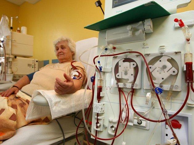 Jitka Polívková dojíždí sanitou z Kralovic do Plzně na dialýzu třikrát týdně již čtyři roky. Bez ní by do třech měsíců zemřela. Onemocnění ledvin u ní zapříčinila cukrovka