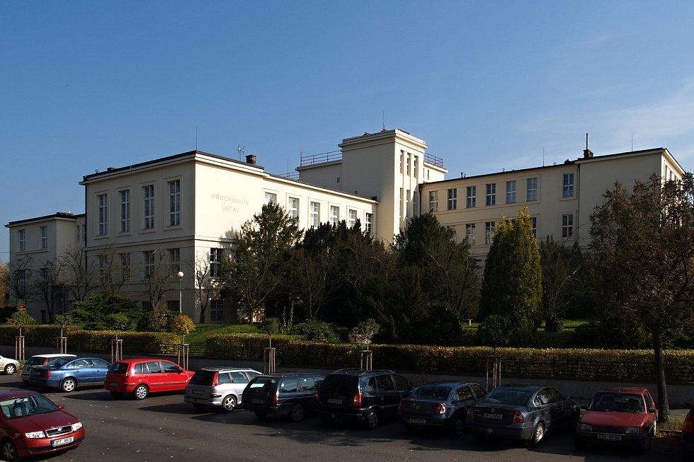 Budovy Lékařské fakulty v Plzni - Procháskův ústav.