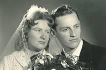 č. 134: Hana a Václav Petráškovi, Plzeň (Svatba: 7. října 1961)