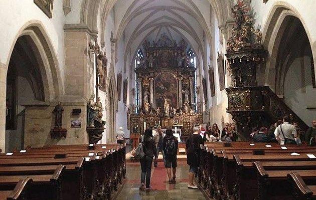 Noc kostelů 2014 se v Plzni konala i v kostele Nanebevzetí Panny Marie ve Františkánské ulici.