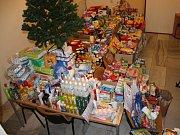 Tak vypadá 2,3 tuny pomoci pro potřebné