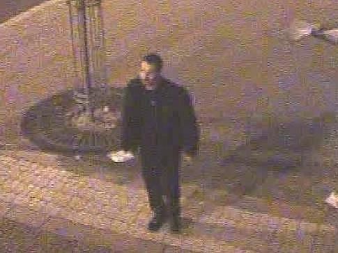 Vandal poškodil bankomat na Anglickém nábřeží v Plzni