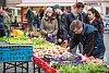 První farmářské trhy v Plzni v roce 2016.