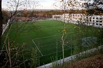 Rekonstrukce sportovního areálu Prokopávka.