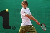 V 39. ročníku turnaje Ex Plzeň Wilson Cup se mladý německý tenista Peter Heller radoval z vítězství ve dvouhře a společně s krajanem Hagnem i ve čtyřhře