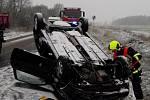 Dopravní nehoda mezi Vejprnicemi a Tlučnou na Plzeňsku.