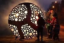 V Plzni začal Festival světla BLIK BLIK