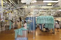 Prádelna ve Fakultní nemocnici v Plzni má nejmodernější technologie.