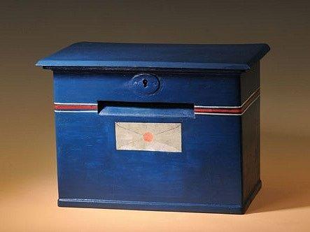 Historická poštovní schránka