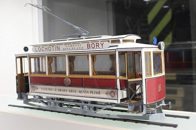 DEPOTUTOJE - Model elektrické tramvaje Křižík – Brožík je jediný a vznikl vdílnách DEPO2015.