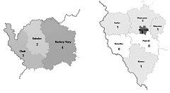 Nejvíce vražd se stalo v Plzni, a to 9. Stav k 19. 12. 2008