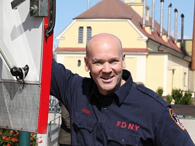 Tiernach Cassidy navštívil Plzeňský Prazdroj