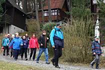 Ani nepřízeň počasí neodradila 890 nadšenců od pochodu Hornobřízský puchýř