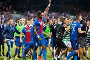 Po zápase Viktoria Plzeň - The New Saints se strhla pořádná mela.