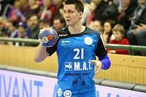 Křídelník a kapitán Talentu Plzeň Petr Vinkelhöfer ví, že i přes dvě výhry nejsou výkony házenkářů optimální. V neúplné tabulce patří Plzni druhé místo.