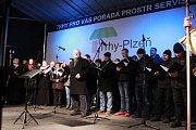 Česko zpívá koledy - Plzeň.