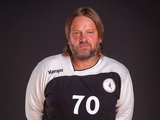 Oporou házenkářů Talentu je i v aktuální sezoně pětačtyřicetiletý brankář Radek Motlík.