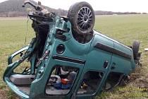 Vážná nehoda u Prádla na jižním Plzeňsku