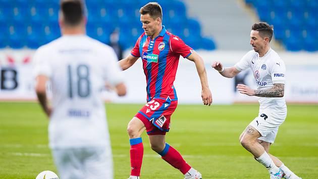 Fotbalisté Slovácka v sobotu prohráli v Plzni 1:2.