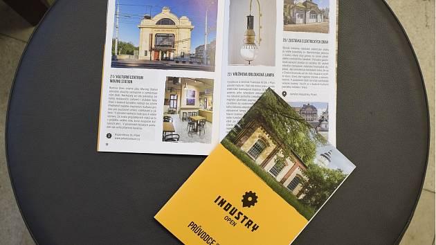 Téměř čtyřicet zajímavých lokalit představuje tištěný Průvodce industriálem Plzeňského kraje. Vychází jako doplněk festivalu Industry Open, jehož letošní druhý ročník nabídl přes 110 dílčích akcí.